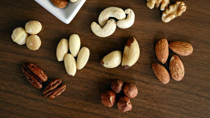 Ilustrasi Kacang Almond Credit: pexels.com/Marta