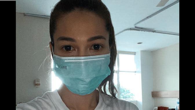 Diisolasi Positif Corona Covid-19, Andrea Dian: Ada Pasien yang Tidur di Bangsal