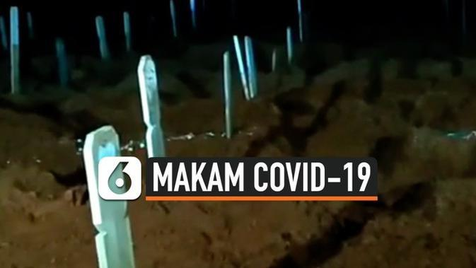 VIDEO: Lahan Pemakaman Korban Covid-19 Menipis, Anies Baswedan Tinjau TPU Pondok Ranggon