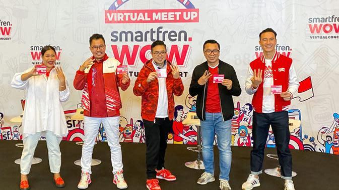 Virtual Meet Up Smartfren WOW Virtual Concert.