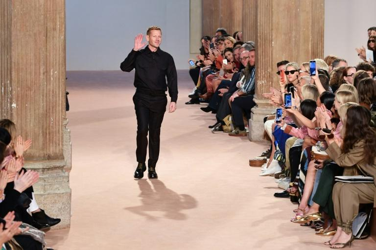 Salvatore Ferragamo's new collection had been the day's early highlight, the Florence-based house's British creative director Paul Andrew bringing its legendary flair alive