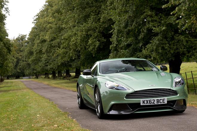 No, Mr. Bond, I expect you to vroooooom: the Aston Martin Vanquish