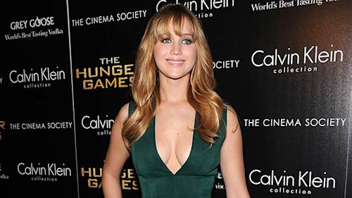 Jennifer Lawrence Dishes 'Catching Fire'