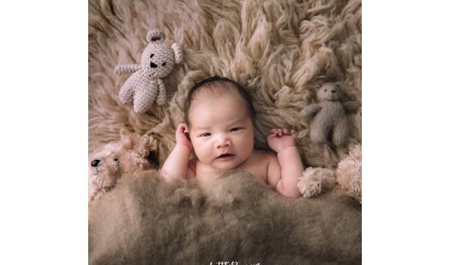 Anak Vicky Shu (Sumber: Instagram/faiza_aljufri)