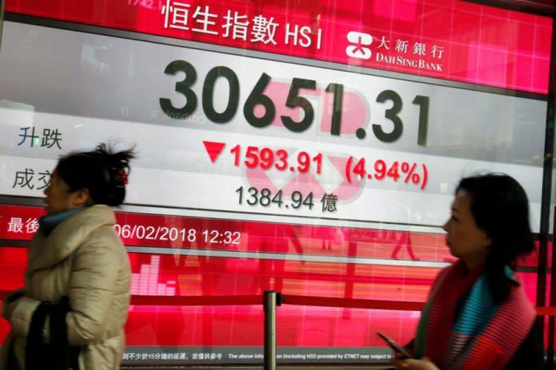 Bursa Saham Hong Kong ditutup merosot 111,55 poin