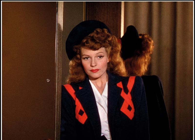 Rita Hayworth Pompadour