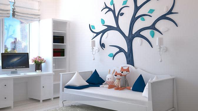 ilustrasi tips kamar gaya aestetik/pexels