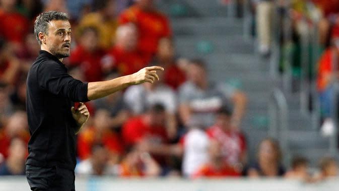 Luis Enrique Resmi Kembali Melatih Timnas Spanyol