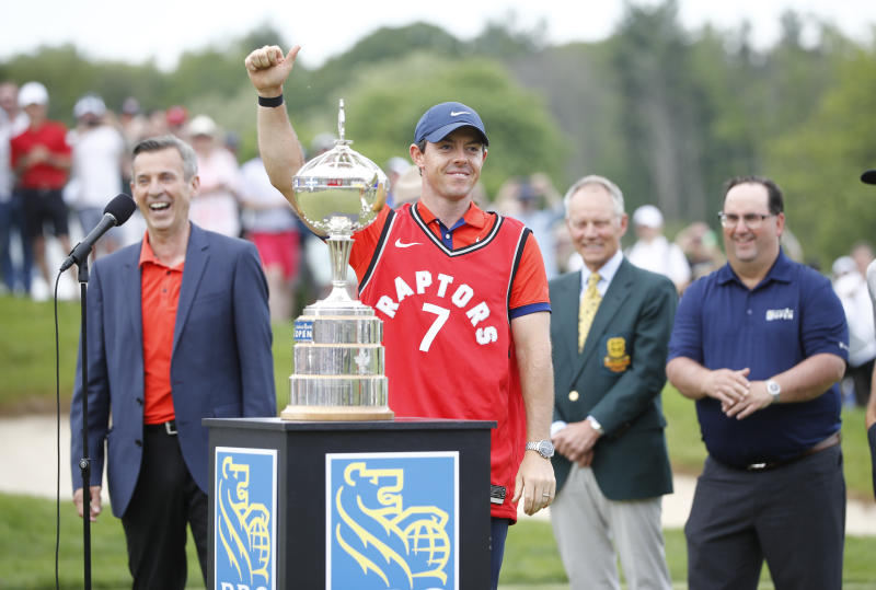 McIlroy surges into share of lead at Canadian Open