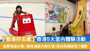【香港好去處】香港5大室內體驗活動 愉景灣溜冰場/鰂魚涌室內攀石場/荔枝角模擬飛行駕駛