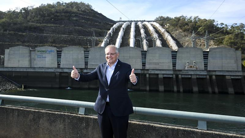 Prime Minister Scott Morrison commits to a 1.3 billion dollar expansion of the Snowy Hydro scheme