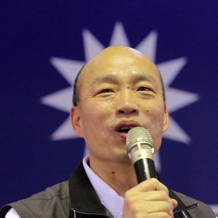 黃世聰表示,台股今年最飆的一檔就是合一生技,也就是韓國瑜持有100張股票的這家公司。圖:翻攝韓國瑜臉書