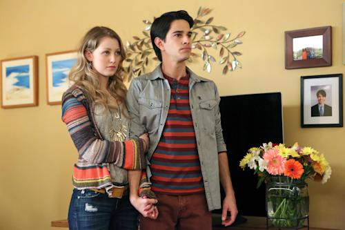 "This publicity image released by NBC shows Ella Rae Peck as Molly Yoder, left, and Joey Haro as Junior Hernandez in ""Welcome to the Family."" NBC says it's canceling two freshman shows, ""Ironside"" and ""Welcome to the Family."" ""Parks and Recreation"" episodes and specials will fill in for the departed ""Welcome to the Family,"" the network said Friday, Oct. 18, 2013. (AP Photo/NBC, Adam Taylor)"