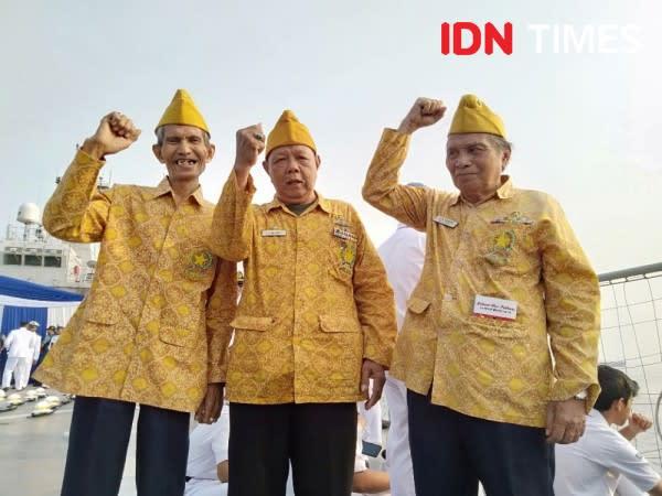 Ketua BPK Tabur Bunga di Teluk Jakarta Peringati Hari Pahlawan