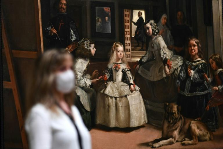 """Visitors will be able to contemplate Velazquez's masterpiece """"Las Meninas"""" in peace, free of any pressing crowds"""