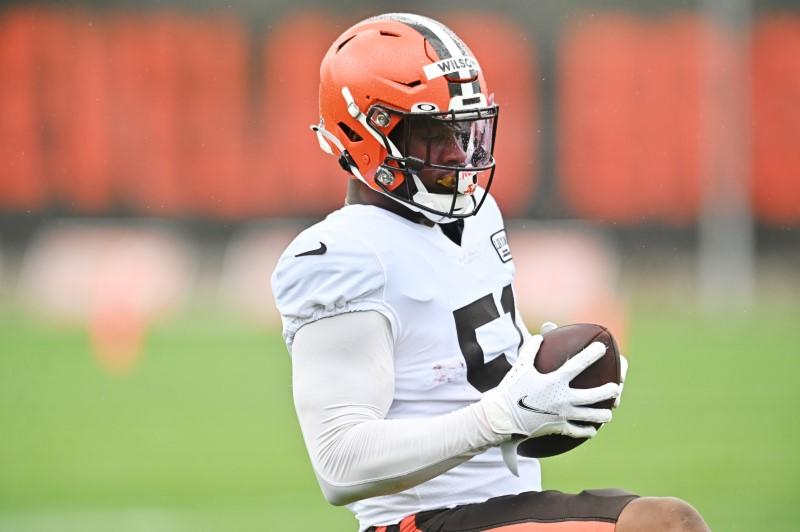 Browns LB Wilson does not need surgery, eyes return