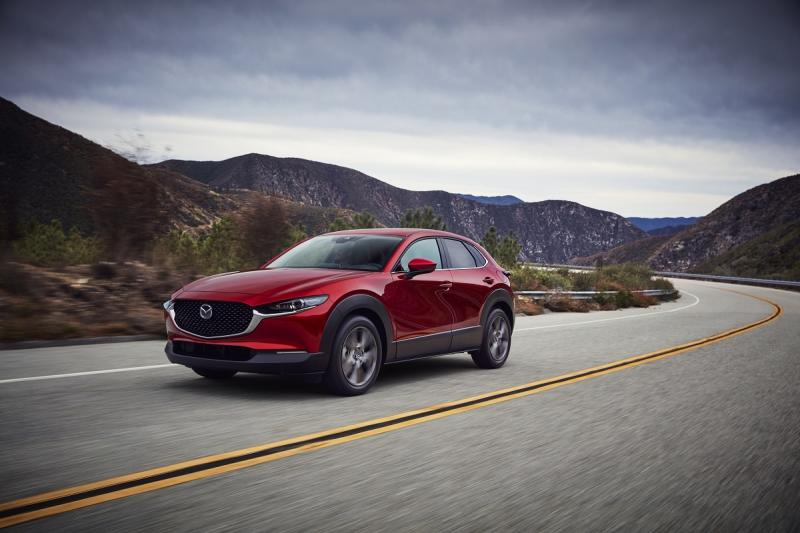 The Mazda CX-30 sports an elegant look and comes with new standards of style. — Picture courtesy of Bermaz Motor