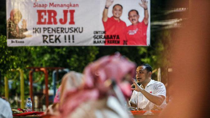 Eri Cahyadi Beberkan Solusi Penataan Kampung saat Bertemu Warga Tandes Surabaya