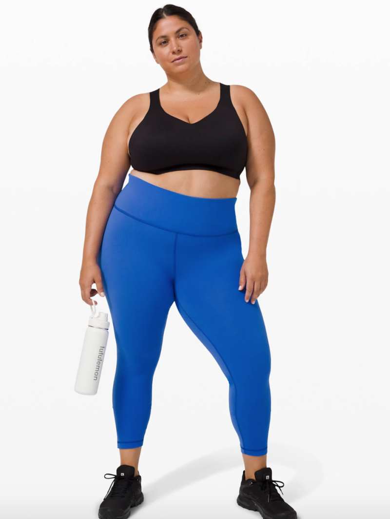 """Wunder Train High-Rise Tight 25"""". Available in size 20. $98. Image via Lululemon."""