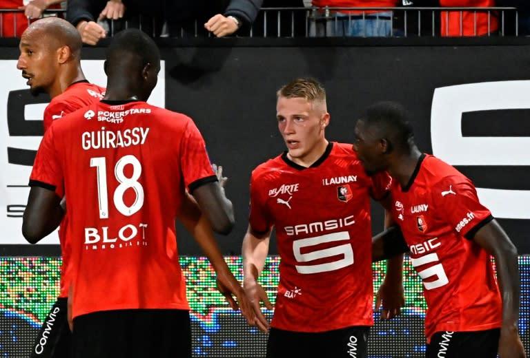 Teenager Truffert scores late winner on debut as Rennes top Ligue 1