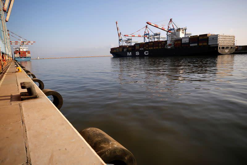 Cargo from Dubai arrives in Haifa, cementing Israel-UAE trade route
