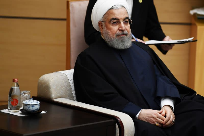 Iranian president accuses U.S. of savagery after new sanctions