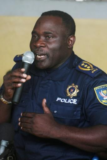 Former police chief John Numbi was put on a US sanctions blacklist in 2016