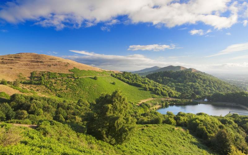 The Malvern Hills - getty