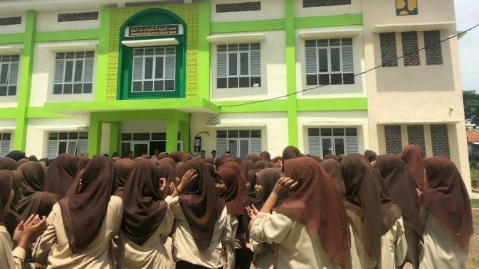 Pembangunan Rusunawa oleh Kementerian PUPR untuk pondok pesantren di Banten (dok: PUPR)