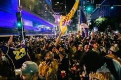 Perayaan kemenangan Lakers di Los Angeles berakhir ricuh