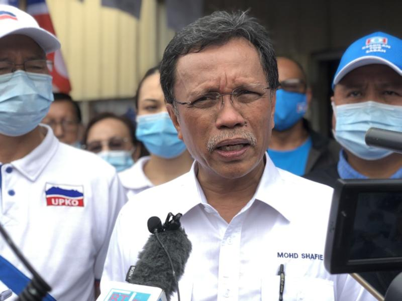 Parti Warisan Sabah president Datuk Seri Mohd Shafie Apdal has touted inclusive policies, earning popularity among the east coast Muslim Bumiputeras, as well as in urban areas and even among the Chinese communities.— Picture by Emmanuel Santa Maria Chin