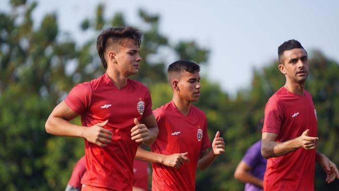 Persija mendatangkan Thiago Apolina Pereira, dan Maike Henrique Irine De Lima, pemain asing asal Brasil. (Dok Persija).