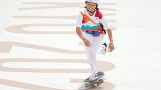 13歲日本選手滑板奪金成史上最年輕金牌得主 仲打破伏明霞紀錄