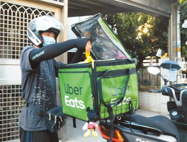 Uber Eats表示,平台有明確客服機制與處理管道,每個顧客反映都有案號可追蹤處理情況。(本報資料照片)