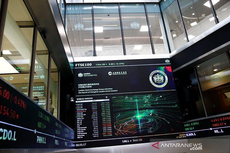 Indeks FTSE-100 Inggris berakhir terangkat 0,12 persen