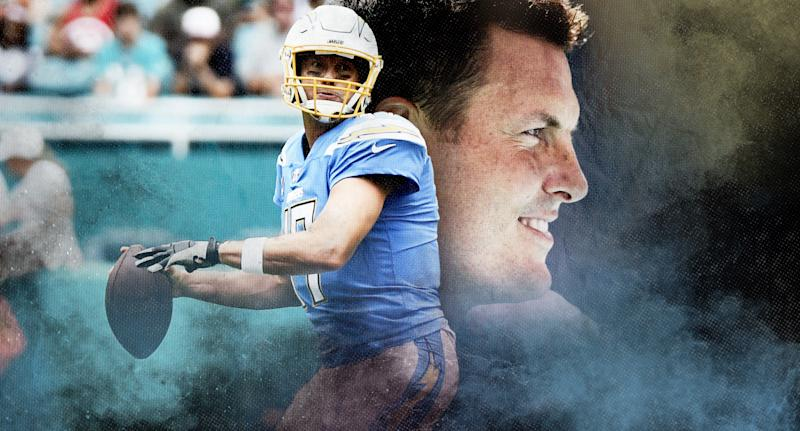 Philip Rivers. (Illustration by Paul Rosales)