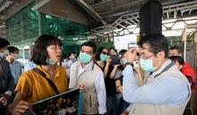 控警「暴力驅離南鐵拒遷聲援者」 學生衝場抗議黃偉哲
