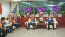 龍潭龍元宮參訪桃市議會 議長互勉讓桃園發展更繁榮