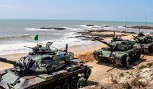 國慶前金門烈嶼戰車翻落邊坡 金防部證實:造成一死一傷