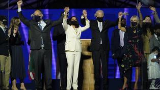美國大選直播|拜登當選美國第46任總統 向支持者發表演說