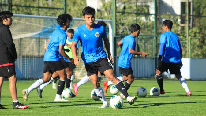Pemusatan latihan periode kedua Timnas Indonesia U-19 di Kroasia. (PSSI).