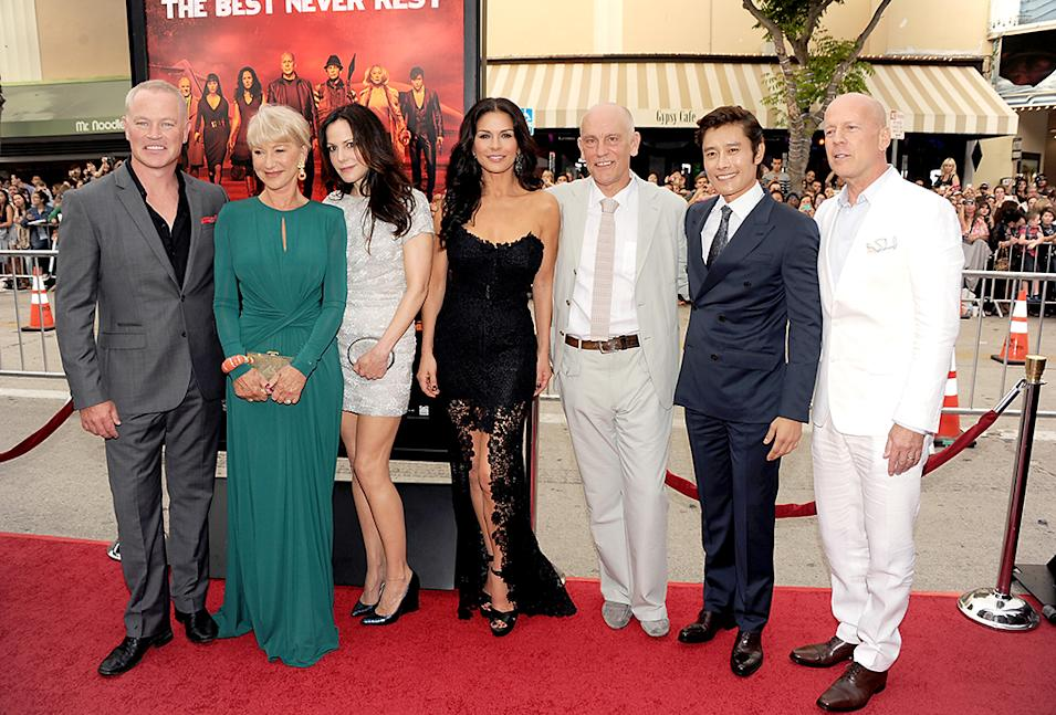 "Premiere Of Summit Entertainment's ""RED 2"" - Red Carpet"