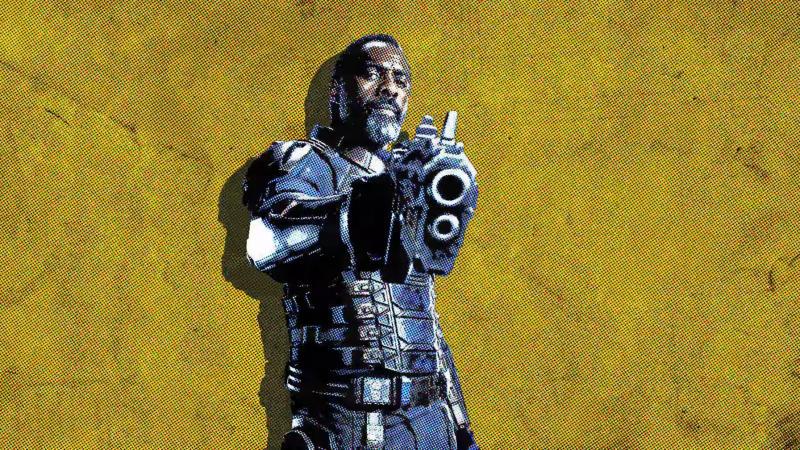 Idris Elba as Bloodsport in 'The Suicide Squad'. (Credit: DC/Warner Bros)