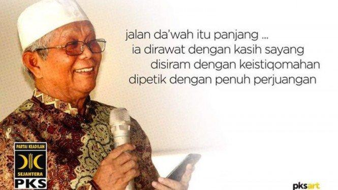Kabar Duka, Pendiri PKS Hilmi Aminuddin Wafat