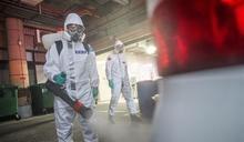 化學兵馳援桃園醫院消毒 杜絕疫情擴散