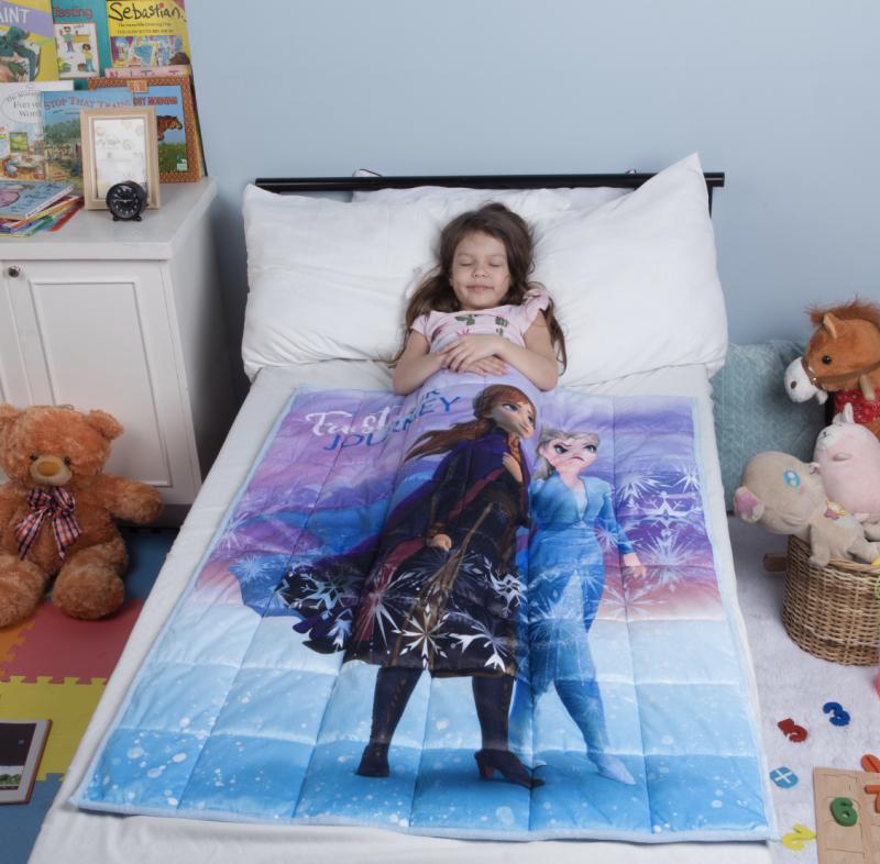 Disney's Frozen II Kids Weighted Blanket. (Photo: Walmart)