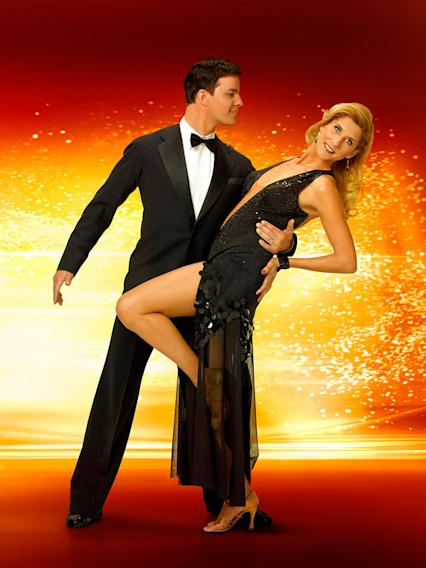 Tennis champ Monica Seles partners with professional dancer Jonathan Roberts for Season 6 of Dancing with the Stars.