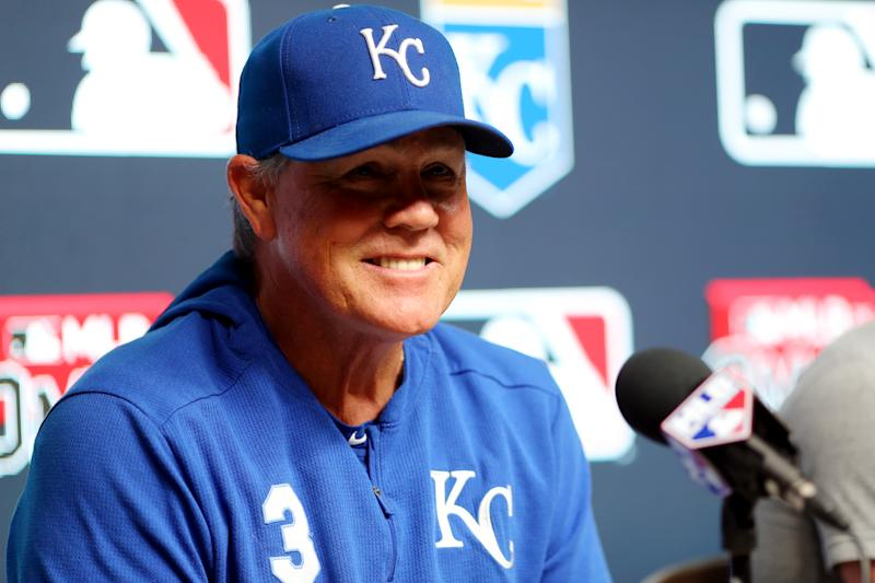 Royals manager Ned Yost will retire on Sunday. (Photo by Alex Trautwig/MLB via Getty Images)