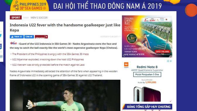 Nadeo Kepa Mirip, Sumber Vietnam Net