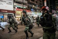 China balas sikap AS terkait kerusuhan di Hong Kong